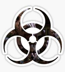 Biohazard - Zombies Sticker