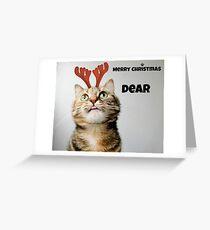 Merry Christmas Dear Greeting Card