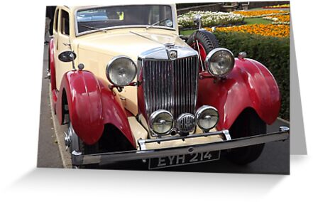 1930 ish MG Sports Saloon by Barry Norton