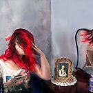 Self Portrait with Self Portrait & Reflection by Mariana Dias
