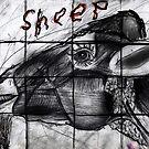 Mutant Sheep Madness Drawing by Followthedon