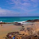 Champagne Pools - Fraser Island by Mick Duck