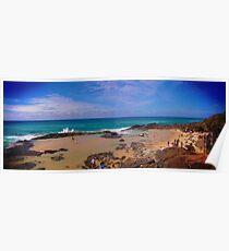 Champagne Pools - Fraser Island Poster