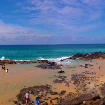 Champagne Pools - Fraser Island by Duckstar
