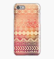 Aztec pattern 01 iPhone Case/Skin