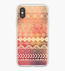 Vinilo o funda para iPhone Patrón azteca 01