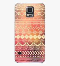 Aztec pattern 01 Case/Skin for Samsung Galaxy