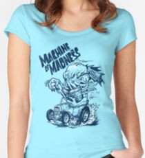 Machine of Madness Women's Fitted Scoop T-Shirt