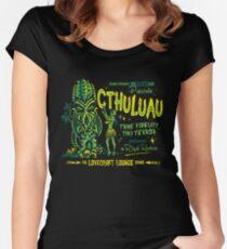 Cthuluau Tailliertes Rundhals-Shirt