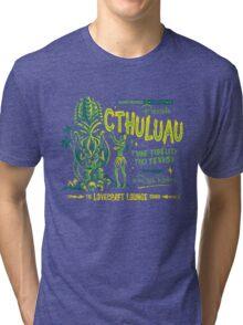 Cthuluau Tri-blend T-Shirt