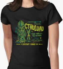 Cthuluau Fitted T-Shirt