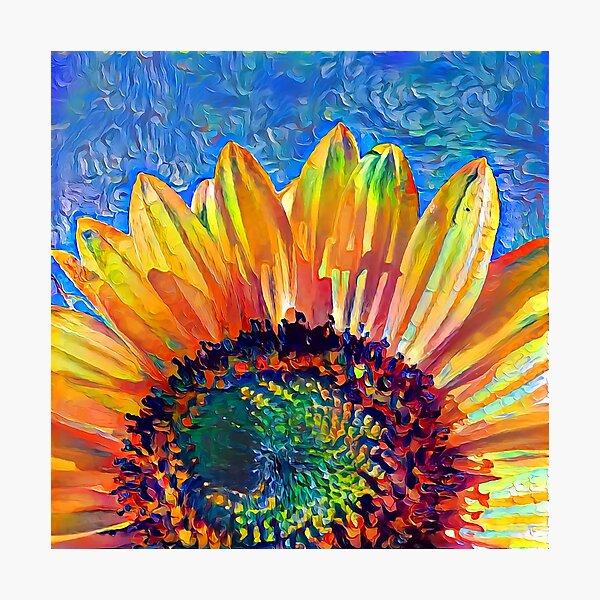 Solar eyelashes Photographic Print