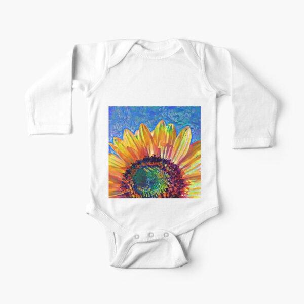 Solar eyelashes Long Sleeve Baby One-Piece