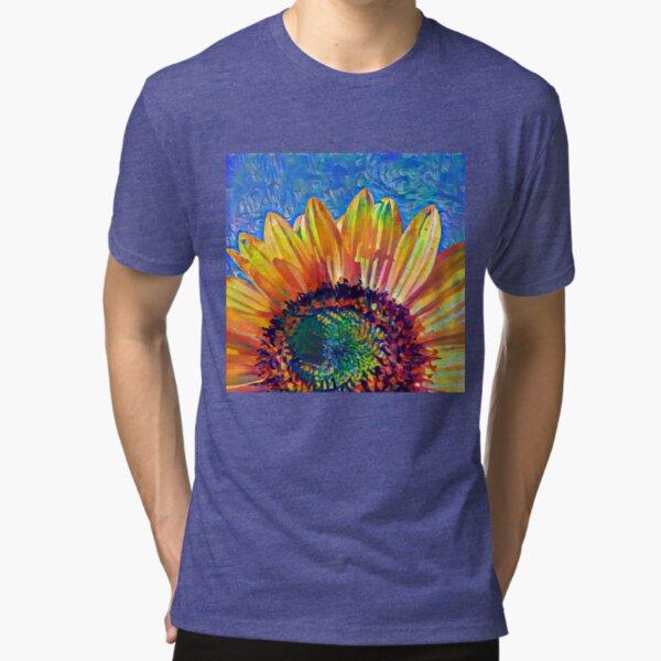 Solar eyelashes Tri-blend T-Shirt