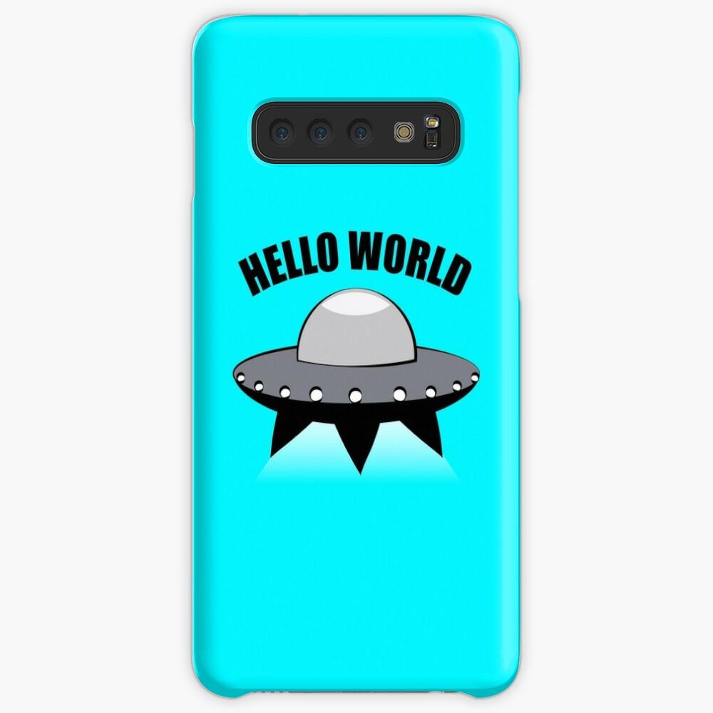 Hello World Case & Skin for Samsung Galaxy