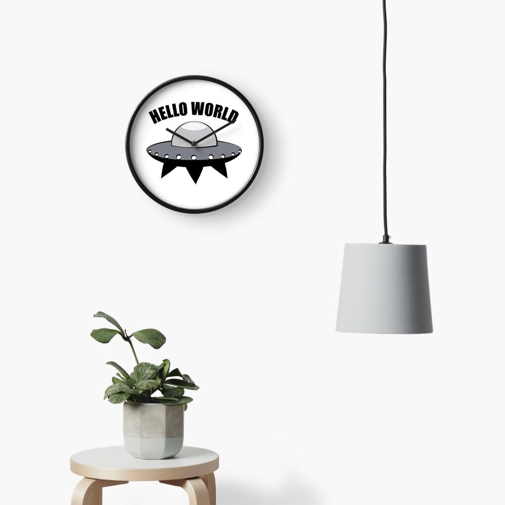 Hello World Clock