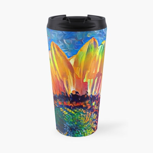 Solar eyelashes Travel Mug