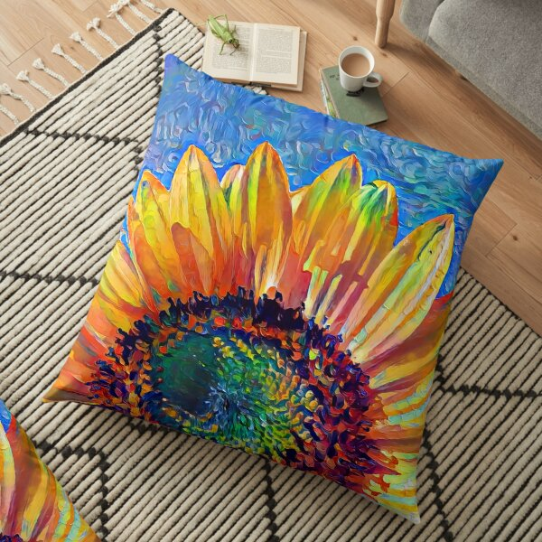 Solar eyelashes Floor Pillow