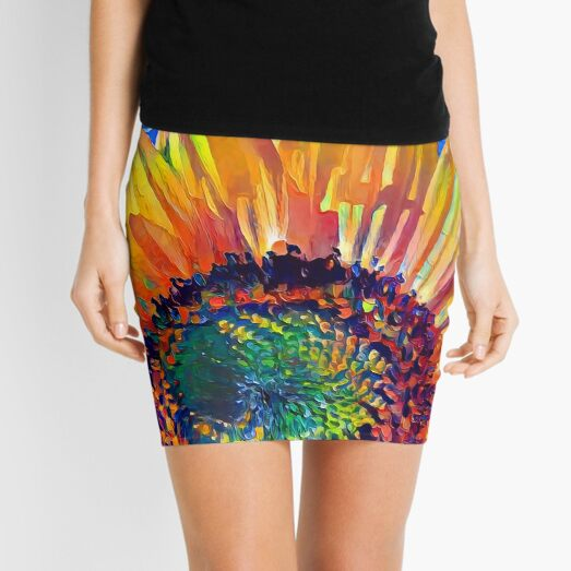 Solar eyelashes Mini Skirt