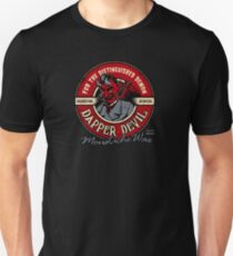 Dapper Devil Moustache Wax Unisex T-Shirt