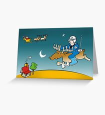 xmas deliveries  Greeting Card