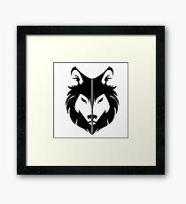 House Stark Sigil Framed Print