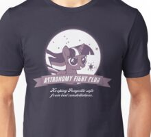 Twilight Sparkle's Astronomy Fight Club Unisex T-Shirt