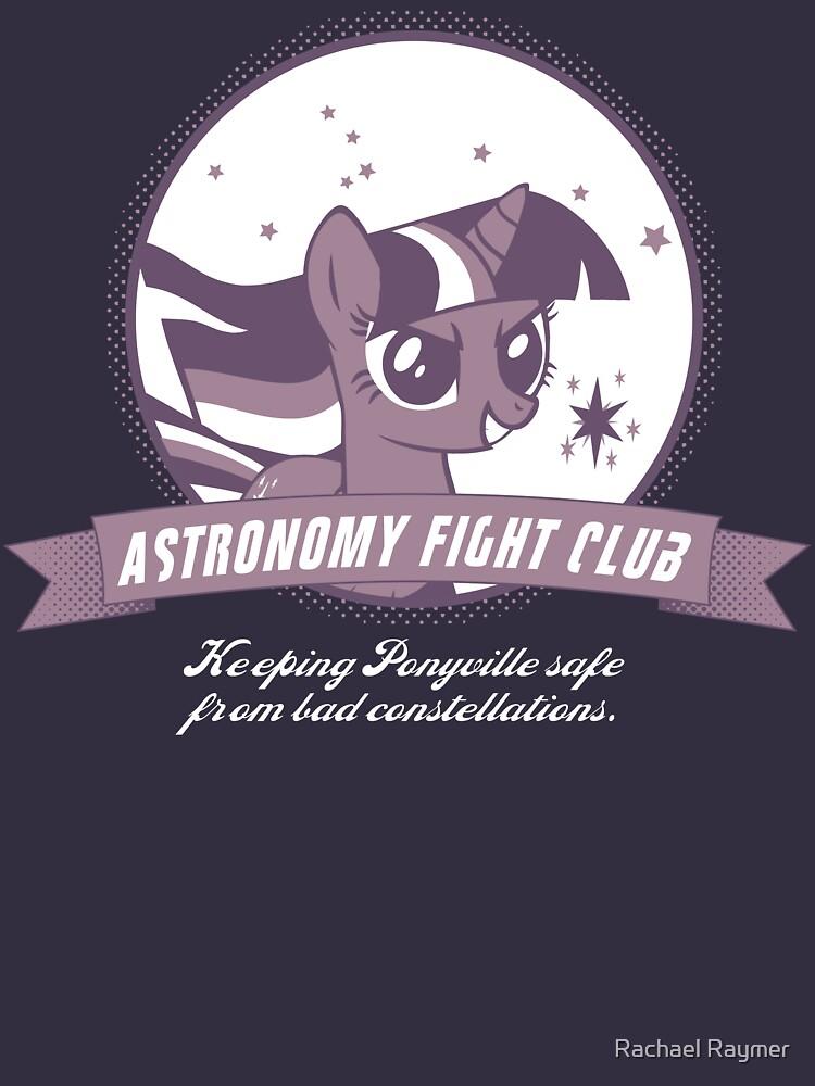 Twilight Sparkle's Astronomy Fight Club by dfragrance