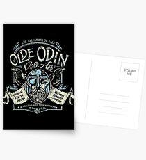 Olde Odin Pale Ale Postcards
