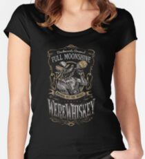 WereWhiskey Women's Fitted Scoop T-Shirt