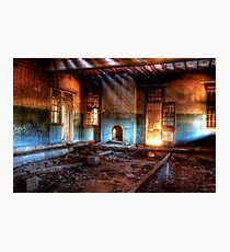 Fire Room Photographic Print