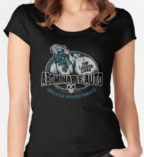 Abominable Auto Women's Fitted Scoop T-Shirt