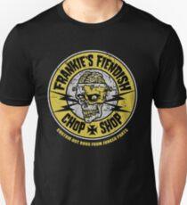 Frankie's Fiendish Chop Shop Unisex T-Shirt