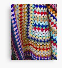 Wool Knit Canvas Print