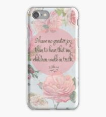 Children Walk in Truth iPhone Case/Skin