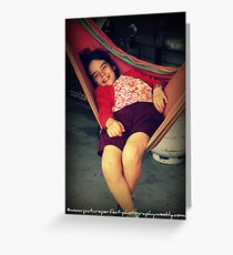 """""""Relaxation"""" Greeting Card"""