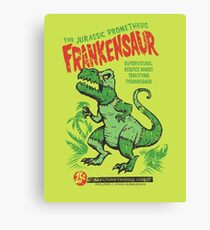 Frankensaur Canvas Print