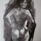 Life sketch, Penny by Kathylowe