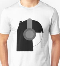 Headphones Unisex T-Shirt