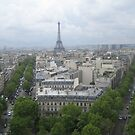 the city of Paris.... by fladelita