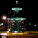 Bathurst City Fountain, Night View by bazcelt