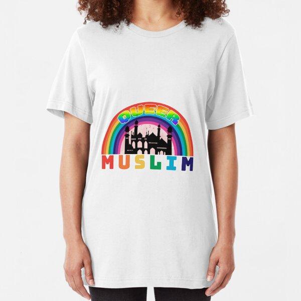 Queer Muslim Slim Fit T-Shirt