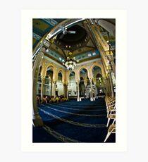 Jumeriah Mosque Interior Art Print