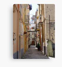 Streetview, Gaeta Canvas Print