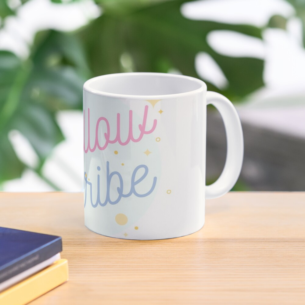 PrettyScribe by YellowScribe Mug