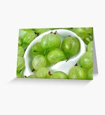 Gooseberries Greeting Card