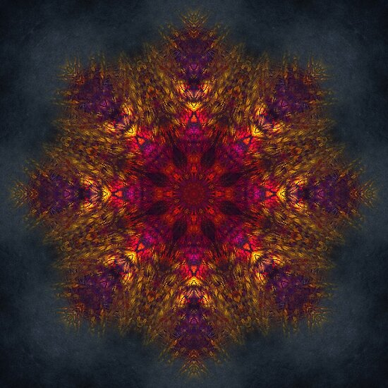 King of Fire mandala by JBJart