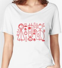 Children Graphics - red design Women's Relaxed Fit T-Shirt