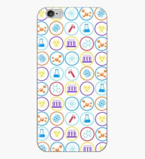 Pattern of Science iPhone Case