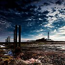 St Marys Lighthouse by Philip  Whittaker